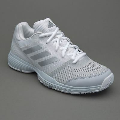 Adidas Womens Girls Barricade Club Tennis Shoes Trainers BB3378 Size UK 4 to 8