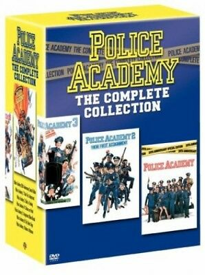 Police Academy - The Complete Collection (7 Disc Box Set) [1984] [... -  CD COVG