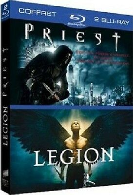 Pack 2 Blu Ray  //  LÉGION  +  PRIEST  //  ( 2 Films )  NEUF sous cellophane