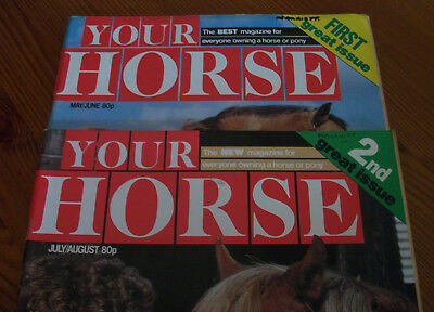 Your Horse Magazine - 1St And Second Ever Editions