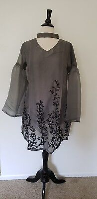 Pakistani / indian orginza net kurti.S size