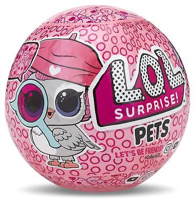 Lol Surprise Pets Animali - Palla Sorpresa - Serie Eye Spy - 3+