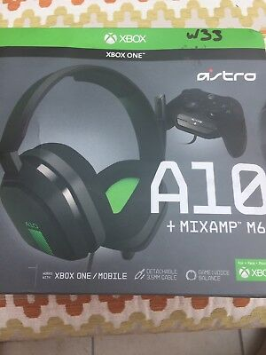 Astro A10 Gaming Headset Blue Xbox One Ps4 Pc 54 99 Picclick Uk
