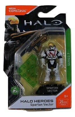 New 2018 Spartan Vector Mega Construx Halo Heroes Series 7 Hero