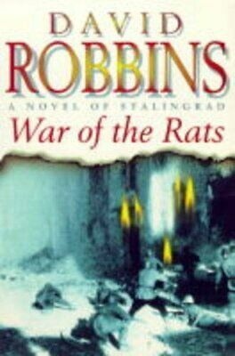 The War Of The Rats by Robbins, David L. Hardback Book The Cheap Fast Free Post