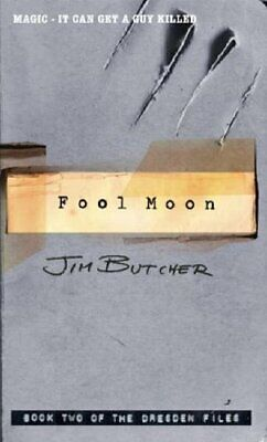 Fool Moon: The Dresden Files, Book Two by Butcher, Jim Paperback Book The Cheap