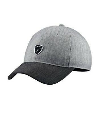 39afa8ef37b9 NIKE DRI-FIT HERITAGE86 Adjustable Golf Hat 932382-071 gray BNWT ...