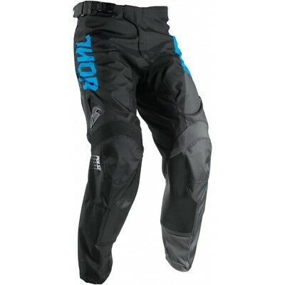 Thor Pulse Aktiv S17 MX Pants Kids Youth Black Blue White