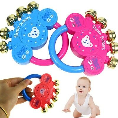 Children Toys Kids Baby Handbell Musical Instrument Jingle Rattle Toy Best Gift