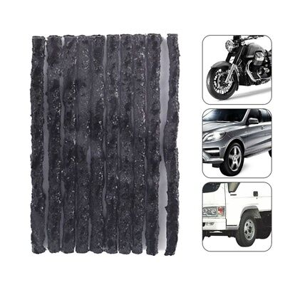 50X Tire Plug Puncture Repair Strings Car Bike Tubeless Tyre Repair Rubber Strip