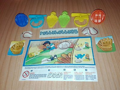 Serie Completa Baseball Sd502 - Sd502 A + 2 Bpz India Kinder Joy 2016/2017