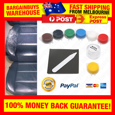 Easy Leather & Vinyl Restoration Kit - Restore Car Seat, Interior, Couch, Shoes
