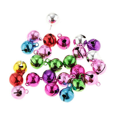 25Pieces 12mm Vintage Small Jingle Bell DIY Craft Jewelry Decoration Pendant