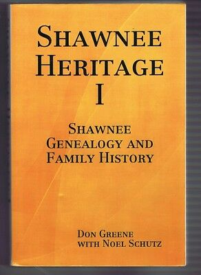 Shawnee Heritage genealogy family history Indian Native American book