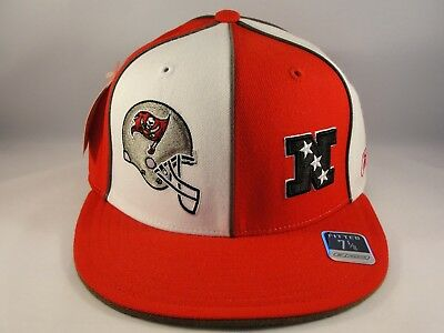 4fff84a8558 Tampa Bay Buccaneers NFL Reebok Fitted Cap Hat Size 7 1 8 Red White