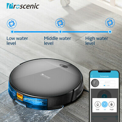 Prosenic 811GB Smart Robot Vacuum Cleaner Auto Floor Carpet Sweeper Mop hoover