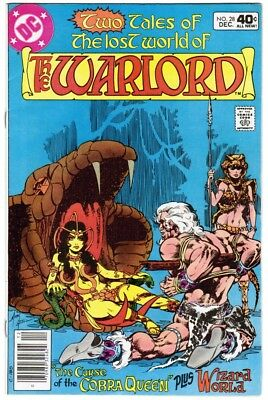 WARLORD #28-38 + 100-pg Digest DC Bronze Age comic books Lot of 12 (1980)