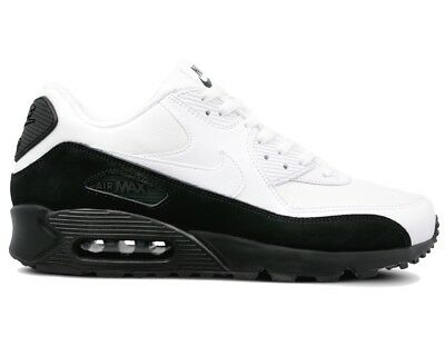 separation shoes fc551 650a7 Nike Air Max 90 Essential AJ1285 006 Mens Trainers Black White Gym Running  Shoe
