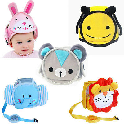 Infant Toddler Safety Helmet Baby Kid Head Protect Lovely Hat For Walking LG