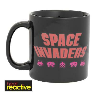 Space Invaders - Heat Reactive Mug - Brand New 20 Ounces - Classic Game 56161