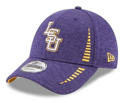 online store 5bf3d baebe ... greece lsu tigers new era 9forty ncaa shadow speed performance  adjustable hat 0a1ee 2ff2e