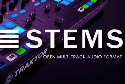 DJ STEMS - Tech House Collection -DOWNLOAD TODAY- STEM Traktor Kontrol S4 S8 F1