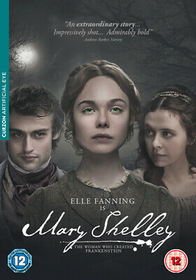 Mary Shelley DVD (2018) Elle Fanning ***NEW***