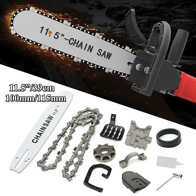 """11.5"""" For110/115mm Angle Grinder Transfer Conversion Head+Bracket Electric Chain"""
