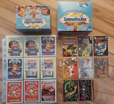 Garbage Pail Kids 2014 Series 2 Master Set . plus box and wrappers
