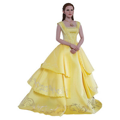 """DISNEY - Beauty and The Beast - Belle 1/6 Action Figure 12"""" Hot Toys MMS422"""