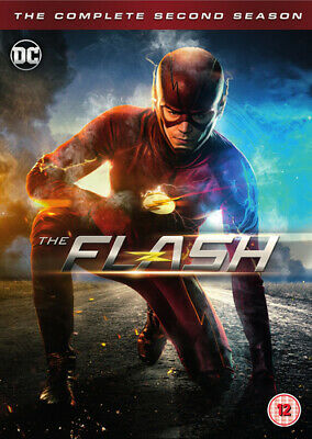 The Flash: The Complete Second Season DVD (2016) Grant Gustin cert 12 6 discs