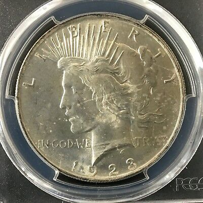 1923 $1 Peace Silver Dollar PCGS MS64  83766579