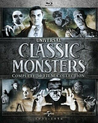 Universal Classic Monsters: Complete 30-Film Collection [New Blu-ray] Boxed Se
