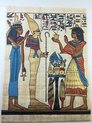 Pharaohs Artwork Egyptian Papyrus Picture Art Hand Painted For Decoration, Egypt
