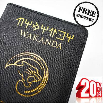 Wakanda Asgard Passport 2018 Cover Holder PU Wallet FREE SHIPPING