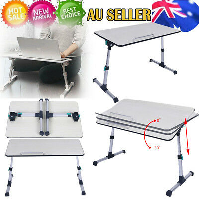 Foldable Laptop Notebook Desk Bed Table Bed Writing Tray Multifunction Anti-slip