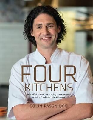 NEW Four Kitchens By Colin Fassnidge Hardcover Free Shipping