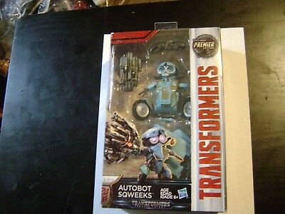 Transformers  The Last Knight Deluxe Autobot Sqweeks Premier Edition Figure