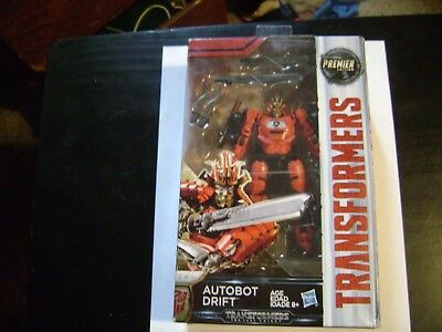 Transformers The Last Knight Deluxe Autobot Drift Premier Edition Figure
