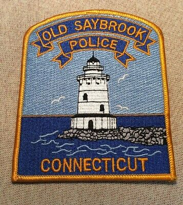 CT Old Saybrook Connecticut Police Patch