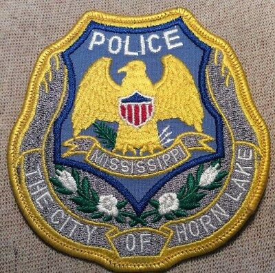 MS Horn Lake Mississippi Police Patch
