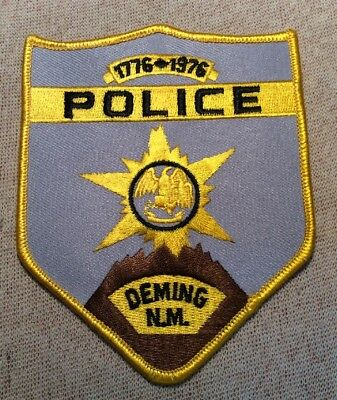 NM Deming New Mexico Police Patch