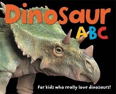 NEW Dinosaur ABC By Roger Priddy Board Book Free Shipping
