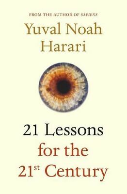 NEW 21 Lessons for the 21st Century By Yuval Noah Harari Paperback Free Shipping
