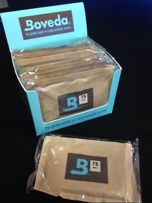 12 LARGE 67 GRAM BOVEDA HUMIDIPAK PACK w/ Display BX 5 HUMIDITY LEVEL OPTION USA