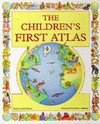 The Children's First Atlas by Morris, Neil Hardback Book The Cheap Fast Free