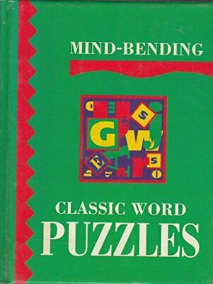 Mind-Bending Classic Word Puzzles (Mind Bending Puzzle Books) Hardback Book The