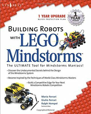 Building Robots With Lego Mindstorms by Ferrari, Mario Paperback Book The Cheap