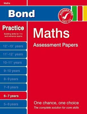 Bond Maths Assessment Papers 6-7 years by Frobisher, Anne Book The Cheap Fast