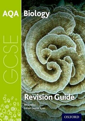 AQA GCSE Biology Revision Guide by Miles, Niva Book The Cheap Fast Free Post